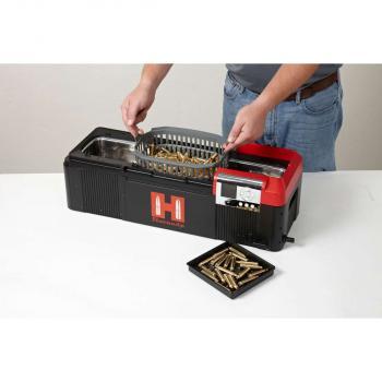 Hornady Lock-N-Load Progressive Presse inkl.  Hornady L-N-L Hot Tub Ultraschall Hülsenreinigungsgerät 9 Liter 220 Volt