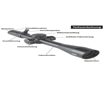 Bushnell Elite Tactical LRTS Zielfernrohr 4,5-18x44mm
