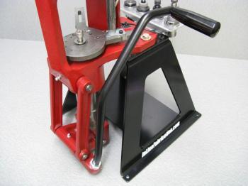 Inline Fabrication Hornady Lock-N-Load AP Presse ergonomischer Rollhandgriff schwarz
