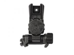 Magpul MBUS Pro LR Adjustable Rear Sight - ausklappbar und höhenverstellbar