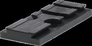 Adapter Platte zur Montage des Aimpoint ACRO C-1 Leuchtpunktvisiers