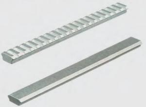 Recknagel Montageschiene 204mm BH10 Picatinny mit Quernuten, Aluminium