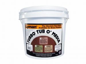 Lyman Turbo Media Jumbo Nussgranulat unbehandelt 18lbs / 8165g