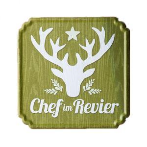 Schild ''Chef im Revier''