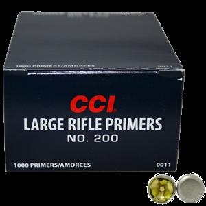 CCI Zündhütchen 200 Large Rifle 100 Stück