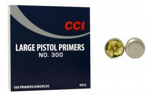 CCI Zündhütchen 300 Large Pistol 100 Stück