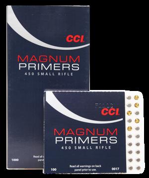 CCI Zündhütchen 450 Magnum Small Rifle 100 Stück