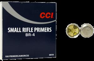 CCI Zündhütchen BR4 Small Rifle 100 Stück