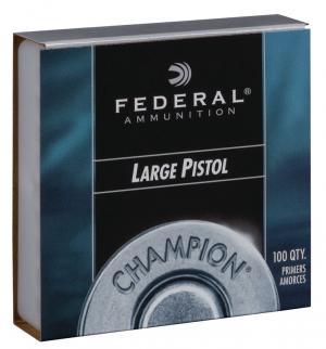 Federal Zündhütchen 150 Large Pistol 100 Stück