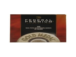 Federal Zündhütchen GM100M Small Pistol Match 100 Stück