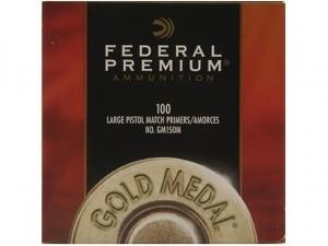 Federal Zündhütchen GM150M Large Pistol Match 100 Stück