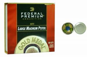 Federal Zündhütchen GM155M Large Pistol Magnum Match 100 Stück