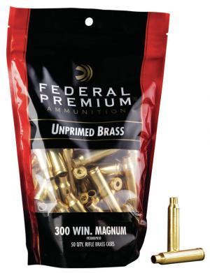 Federal Hülsen .300 Winchester Magnum inkl. Federal Zündhütchen #215 large Rifle Magnum 50 Stück