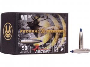 Federal Geschoss 7mm / .284 Terminal Ascent 155GR 50 Stück #PB284TA1