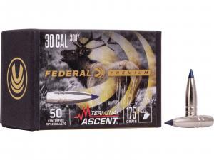 Federal Geschoss .30 / .308 Terminal Ascent 175GR 50 Stück #PB308TA1