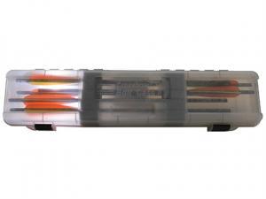 MTM Armbrustpfeilebox BHCB-41 rauch klar für 12 Pfeile mit 23''