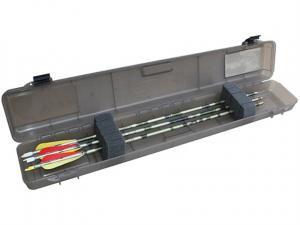 MTM Armbrustpfeilebox Ultra Compact BHUC-41 rauch klar für 12 Pfeile mit 32''