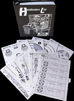 MTM Logbuch für Wiederlader HL-95 schwarz