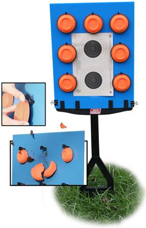 MTM Zielscheibenständer 3in1 JMTBB blau/schwarz