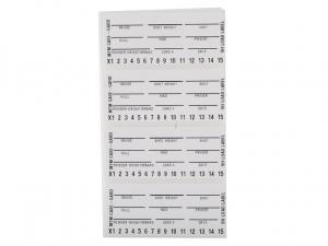 MTM Schrotpatronenboxaufkleber zum Beschriften LL-S 50 Stück