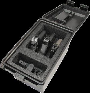MTM Transportkiste für Pistolen TPC3 dunkelgrau