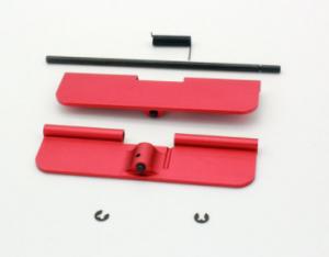 Alpha Precision - AR-15 Dustcover / Staubschutzdeckel-Set rot
