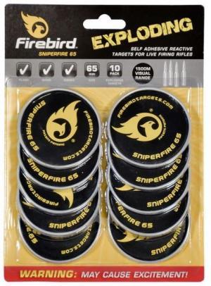 Firebird Targets SniperFire 65mm für das Langwaffenschießen