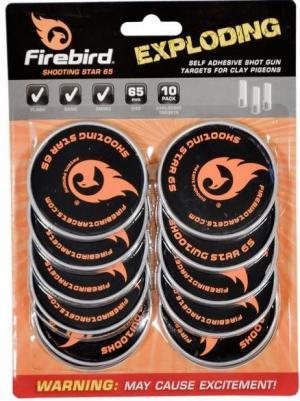 Firebird Targets Shooting Star 65mm für das Tontaubenschießen