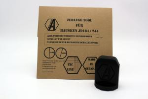 Alpha Precision - Zerlegetool für Hausken JD184 / 244 Schalldämpfer
