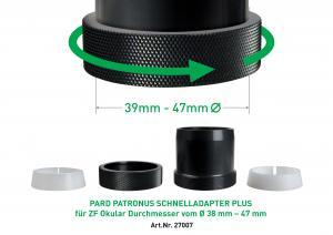 Universal Klemmadapter Uni Speed 2 Adapter PARD - Patronus 39-47mm