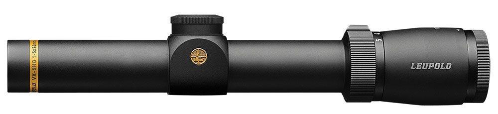 Leupold VX-5HD 1-5x24mm Metric, CDS FireDot4 Fine matt schwarz