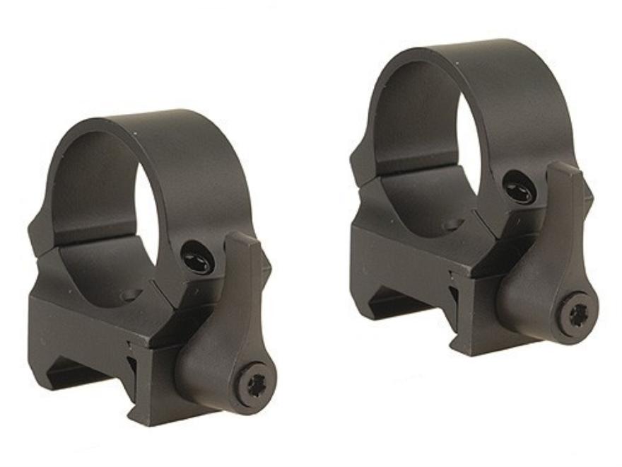 Leupold QRW Ringe 25,4mm medium matt schwarz