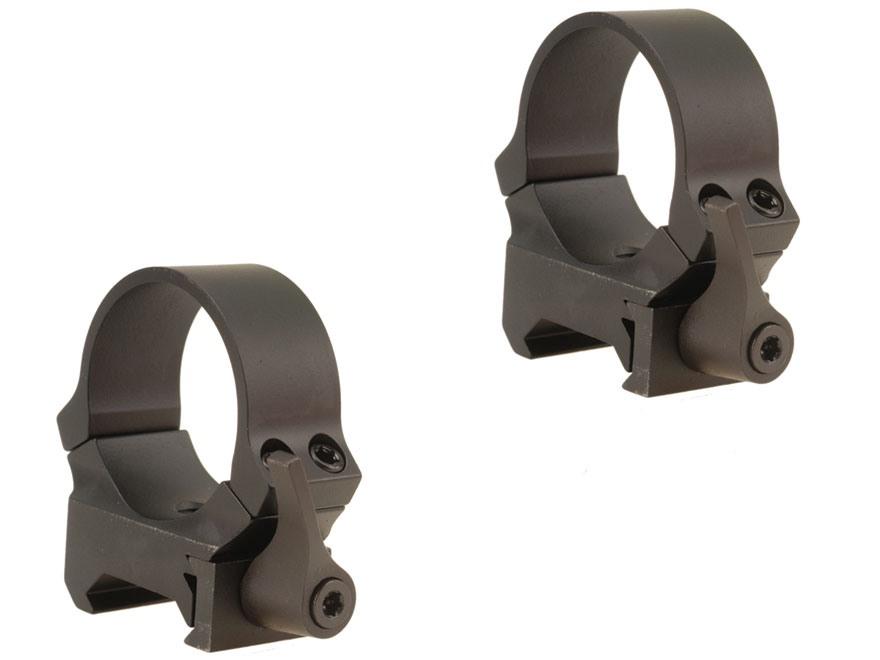 Leupold QRW Ringe 30mm medium matt schwarz