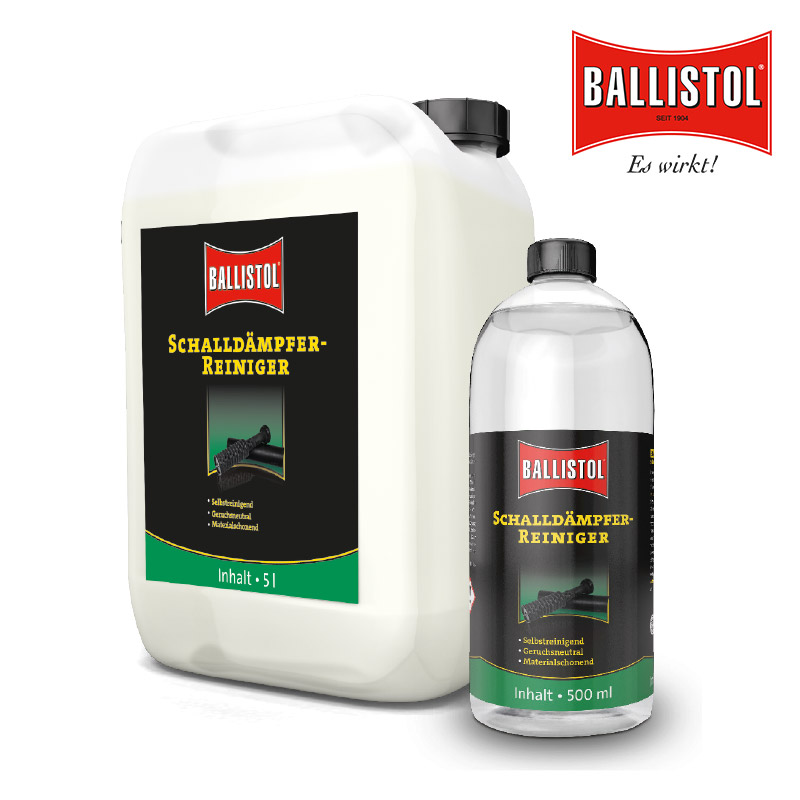 BALLISTOL Schalldämpfer-Reiniger 0,5 Liter