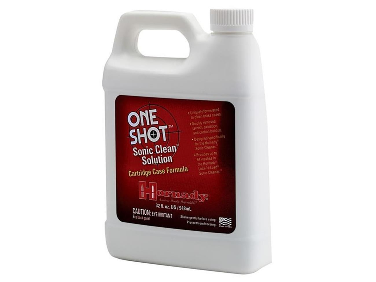 Hornady Lock-N-Load Sonic Clean Solution Brass Cases 1 Gallon/ 3,8 Liter