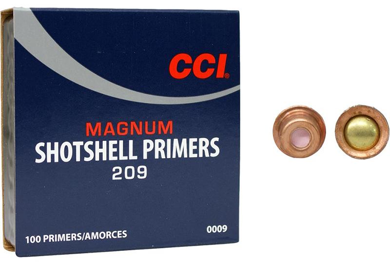 CCI Schrot-Zündhütchen 209M 100 Stück