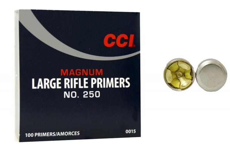 CCI Zündhütchen 250 Large Rifle Magnum 100 Stück