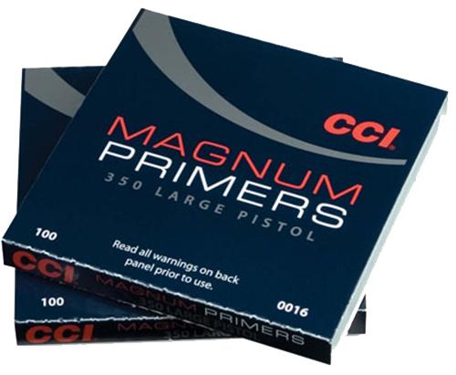 CCI Zündhütchen 350 Large Pistol Magnum 100 Stück