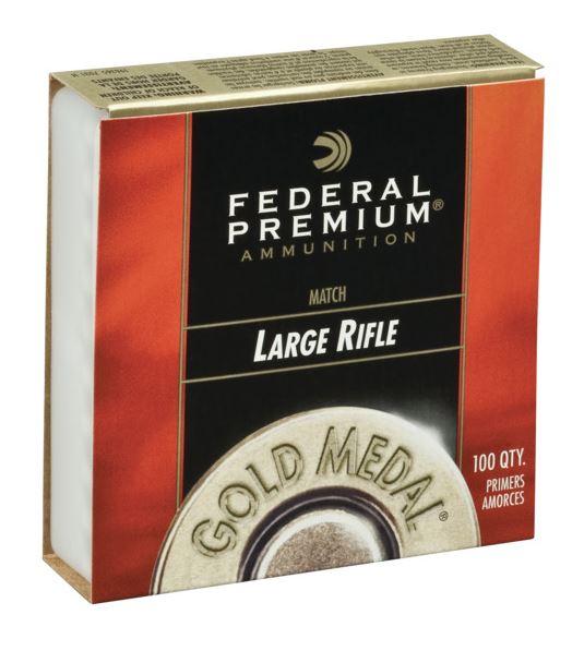 Federal Zündhütchen GM210M Large Rifle Match 100 Stück