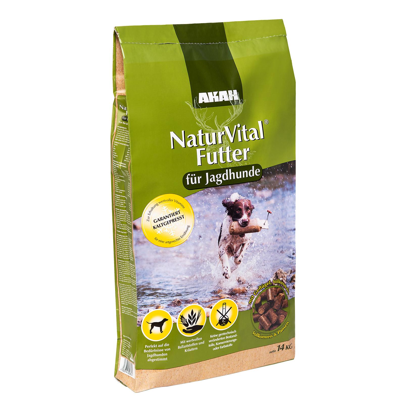 AKAH NaturVital® Hundefutter 14kg