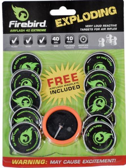 Firebird Targets Airflash 40 Extreme 40mm für Luftgewehr